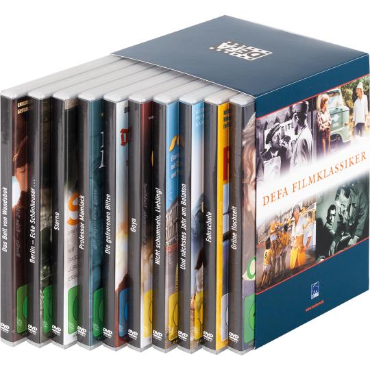 DEFA Filmklassiker Box. 10 DVDs.