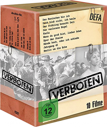 DEFA: Verboten. 10 DVDs.