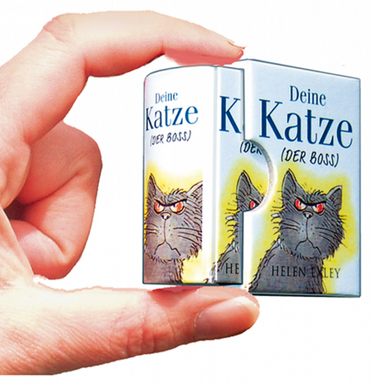 Deine Katze (Der Boss) - Minibuch.