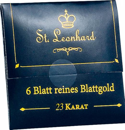 Deko-Blattgold 23 K - Speisen Sie wie die Könige: mit einem Hauch Gold auf Ihrer Mahlzeit