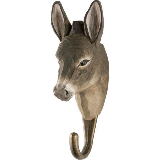 Deko-Haken Esel.