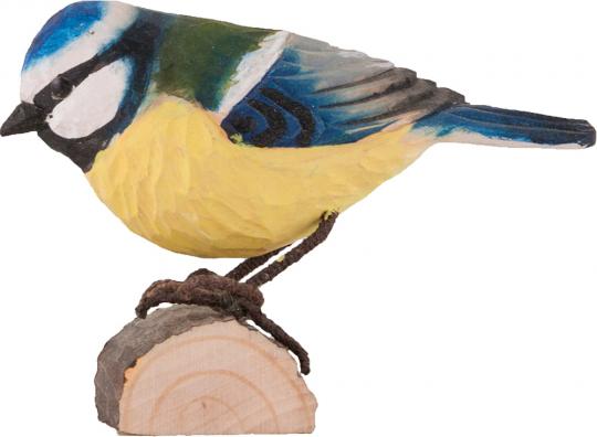 Deko Vogel Blaumeise.