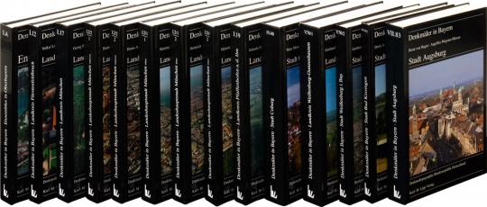 Denkmäler in Bayern Paket. 12 Bände.