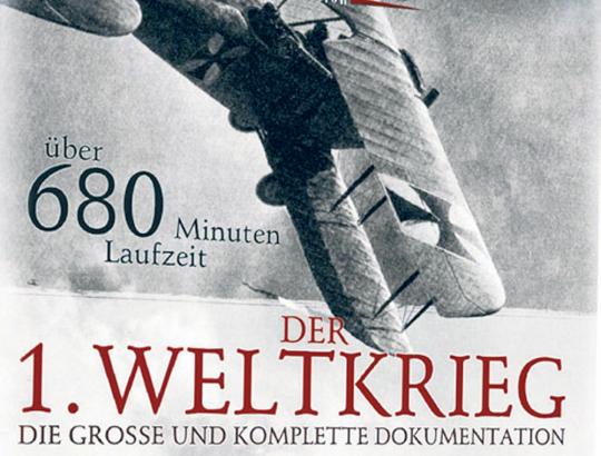 Der 1. Weltkrieg - Grosse & komplette Dokumentation auf 4 DVDs
