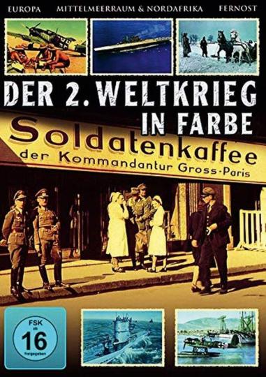 DER 2.WELTKRIEG in Farbe  (6 DVD)