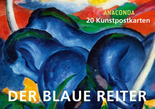 Der blaue Reiter. 20 Kunstpostkarten.