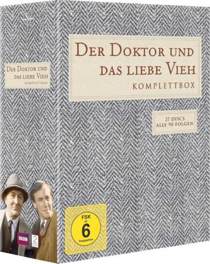 Der Doktor und das liebe Vieh. 27 DVDs.
