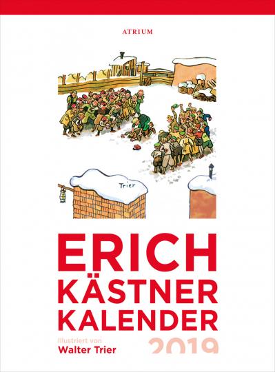 Der Erich Kästner Kalender 2019.