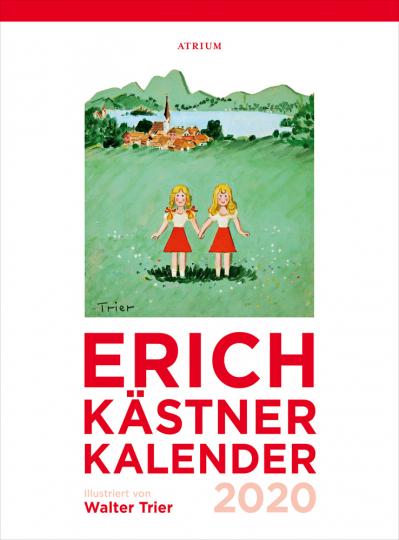 Der Erich Kästner Kalender 2020.