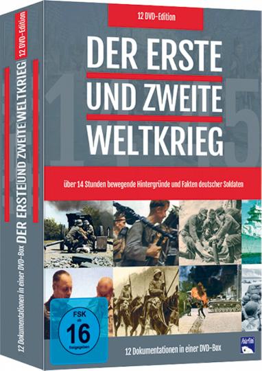 Der Erste und Zweite Weltkrieg 12 DVD Box