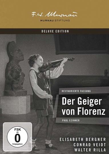 Der Geiger von Florenz (Murnau Stiftung Deluxe Edition). DVD.