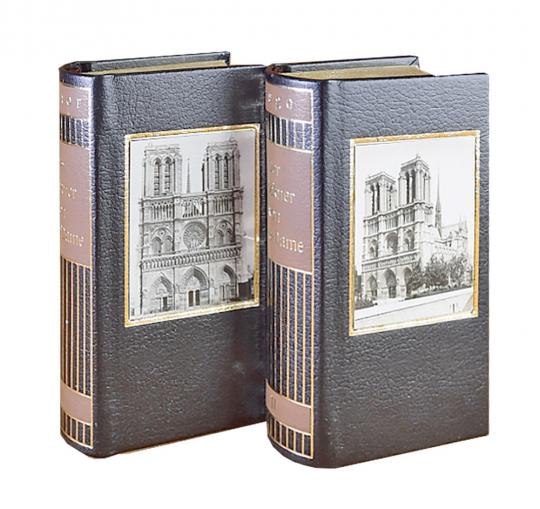 Der Glöckner von Notre Dame - 2 Bände im Schmuckschuber.
