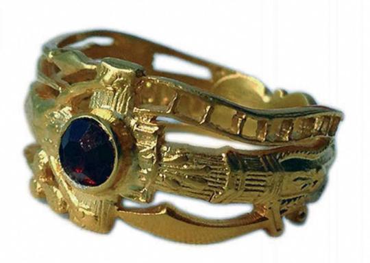 Der goldene Hochzeitsring von Martin Luther - Größe 18.