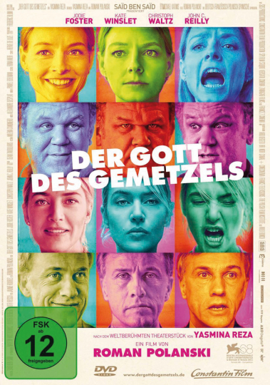 Der Gott des Gemetzels. DVD.