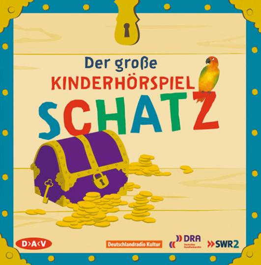 Der große Hörpielschatz. 4 CDs.