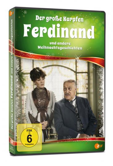 Der grosse Karpfen Ferdinand und andere Weihnachtsgeschichten. DVD.