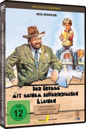 Der Große mit seinem außerirdischen Kleinen. DVD.