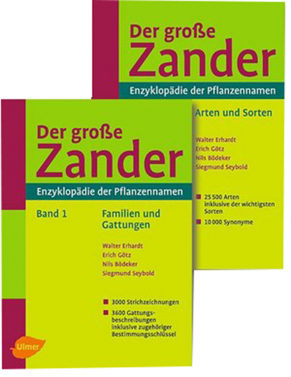 Der große Zander - in 2 Bänden