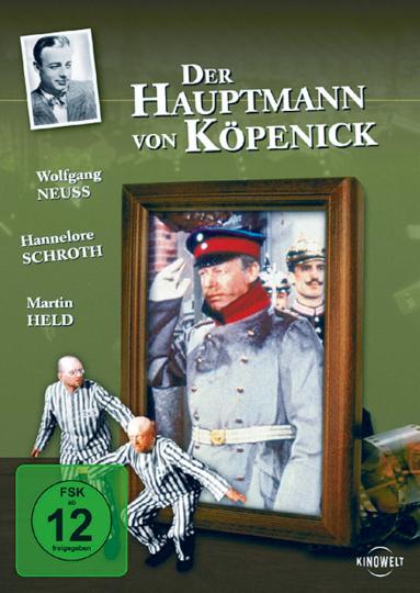 Der Hauptmann von Köpenick - Mit Heinz Rühmann und Hannelore Schroth DVD