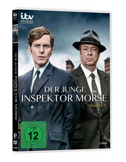 Der junge Inspektor Morse Staffel 3. 2 DVDs.
