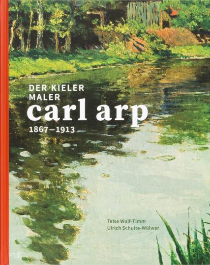 Der Kieler Maler Carl Arp (1867-1913).