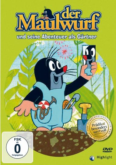 Der kleine Maulwurf als Gärtner DVD