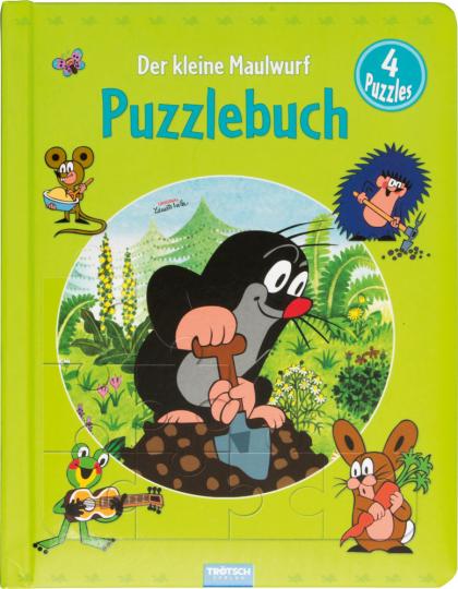 Der kleine Maulwurf. Puzzlebuch.
