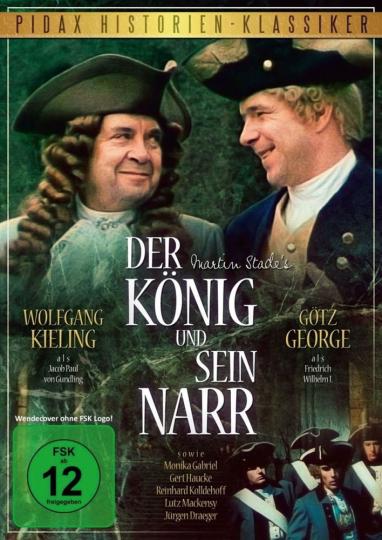 Der König und sein Narr. DVD.