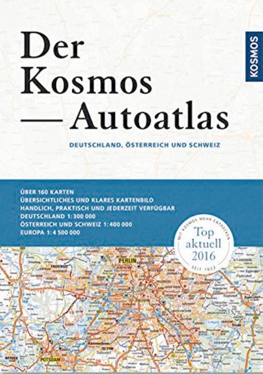 Der Kosmos Autoatlas - Deutschland, Österreich und Schweiz