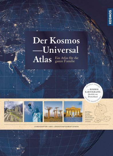 Der Kosmos Universalatlas - Ein Atlas für die ganze Familie