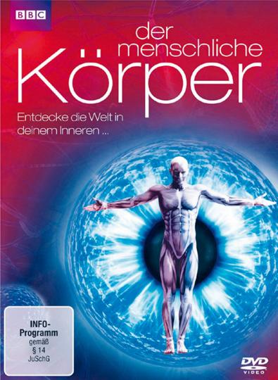 Der menschliche Körper - Entdecke die Welt in deinem Inneren DVD