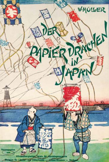Der Papierdrachen in Japan. Ein Beitrag zur Kenntnis altjapanischer Flugversuche.
