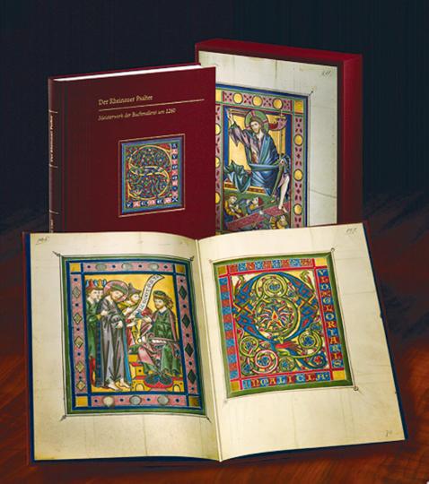 Der Rheinauer Psalter - Eine neue Kunstbuch-Edition mit Original-Faksimileblatt