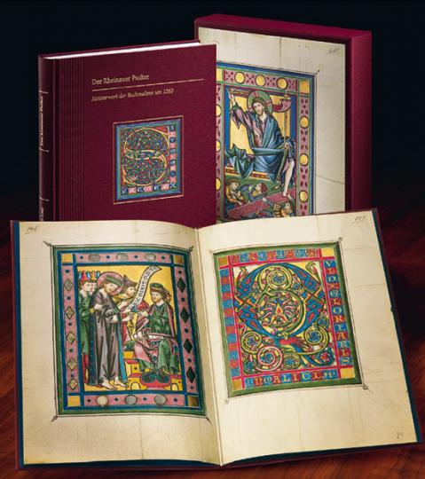 Der Rheinauer Psalter. Meisterwerk der Buchmalerei um 1260.