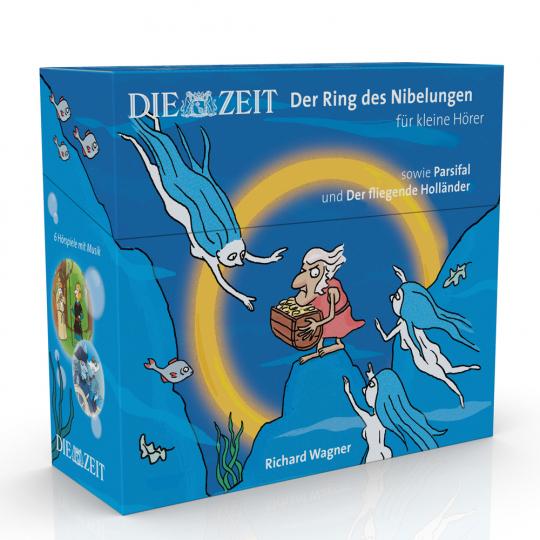 Der Ring des Nibelungen für kleine Hörer. ZEIT-Edition. 6 Hörspiele mit Opernmusik. 6 CDs.