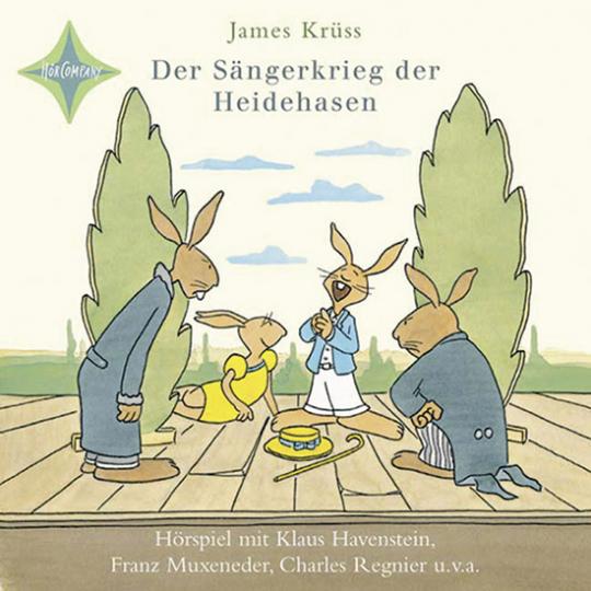 Der Sängerkrieg der Heidehasen. CD.