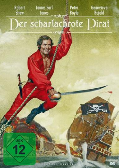 Der scharlachrote Pirat DVD