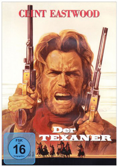Der Texaner. Outlaw Josey Wales. DVD.