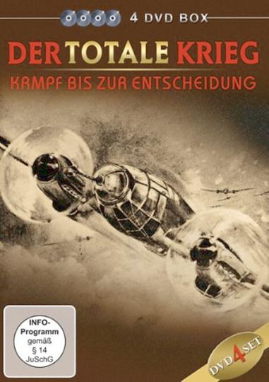Der totale Krieg - Kampf bis zur Entscheidung 4 DVDs