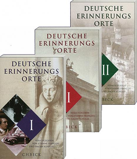 Deutsche Erinnerungsorte 3 Bände. Sonderausgabe.