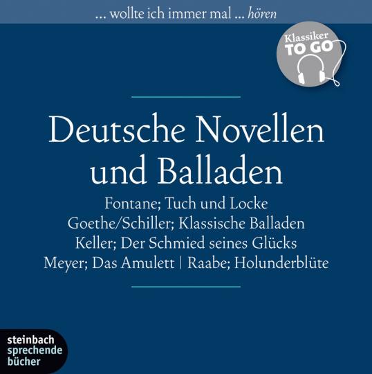 Deutsche Novellen und Balladen.