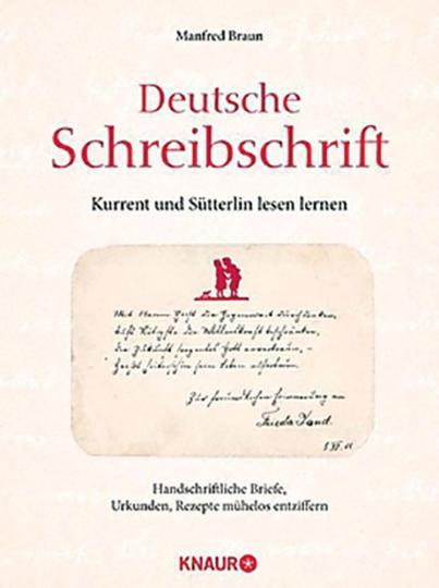 Deutsche Schreibschrift - Lehrbuch