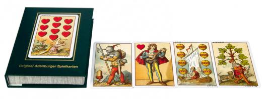Spielkarten »1886 - Mittelalter-Motive«.