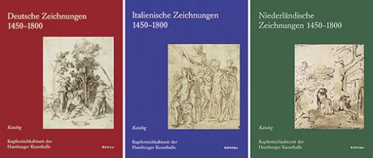 Deutsche Zeichnungen 1450-1800. Italienische Zeichnungen 1450-1800. Niederländische Zeichnungen 1450-1800.