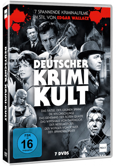 Deutscher Krimi Kult. 7 DVDs.