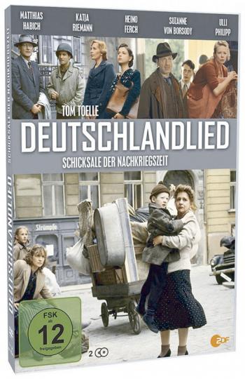Deutschlandlied 2 DVDs