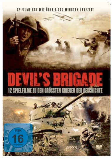 Devil's Brigade 4 DVDs