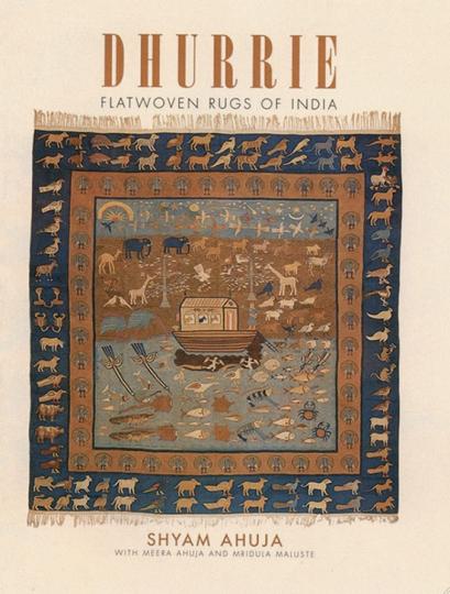 Dhurrie. Flachgewobene Wirkteppiche aus Indien.