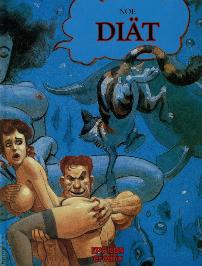 Diät. Erotic Graphic Novel.