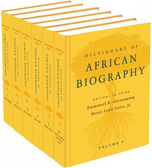 Dictionary of African Biography. Lexikon afrikanischer Persönlichkeiten.
